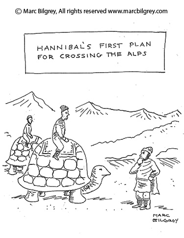 hannibals first plan