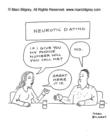 neurotic dating