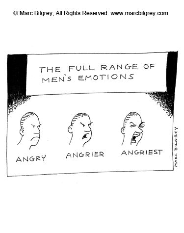3 moods of men angry angrier and angriest